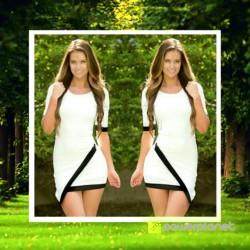 Vestido Negro Asimétrico - Ítem3