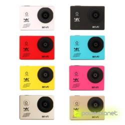 Video Camera Esportiva 4K WiFi Controle Remoto - Item5