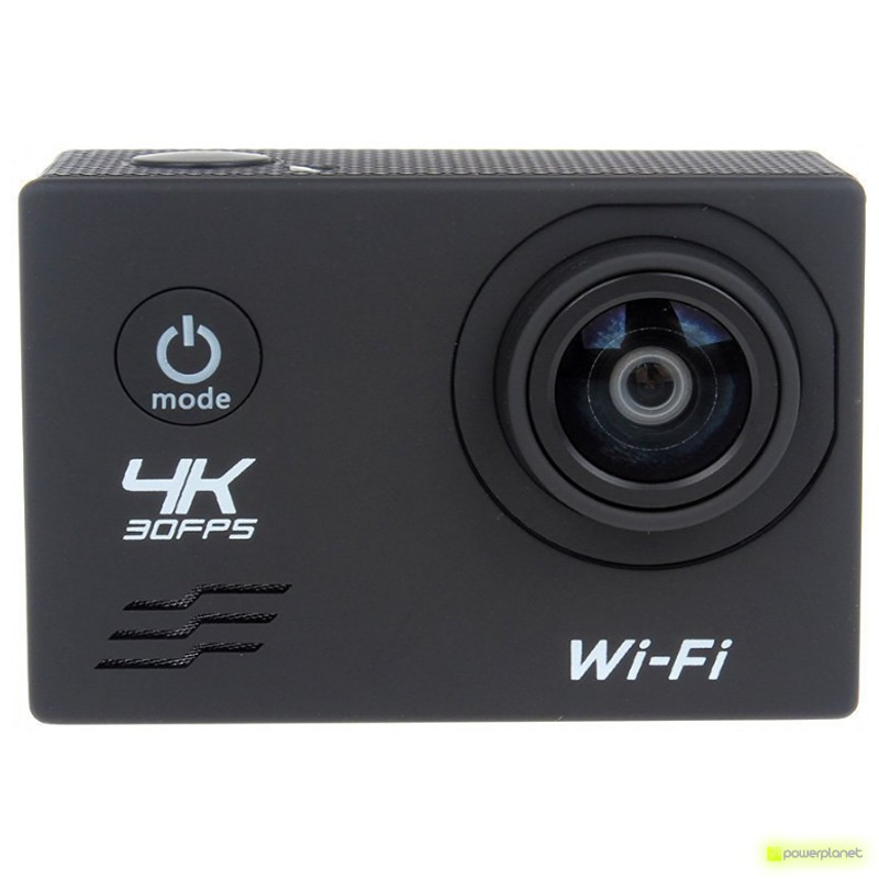 Video Camera Esportiva 4K WiFi Controle Remoto - Item