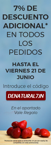 DENATURAL7JN - Categoría lateral 7% dto en pedidos hasta el 21 de junio