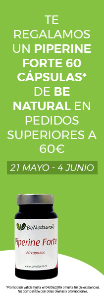 Regalo piperine forte de be natural en compras superiores a 60€