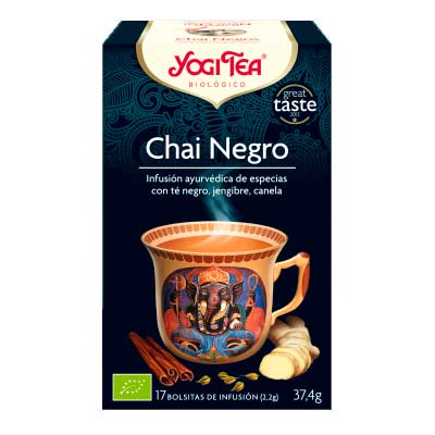 BLACK CHAI - NEGRO-ECO