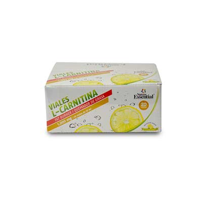 L-CARNITINA 1000 MG 20 VIALES