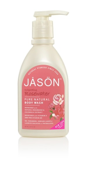 JASON GEL DE MANOS Y CARA agua de rosas 473ml