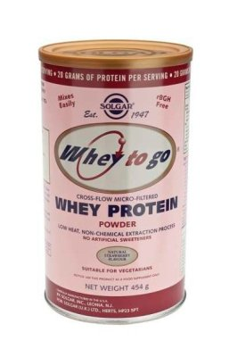 Whey To Go® Fresa. 454g