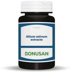 Allium sativum extracto 60 Tabletas