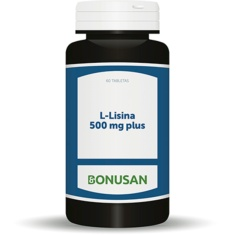L-Lisina 500 mg plus 60 tabletas