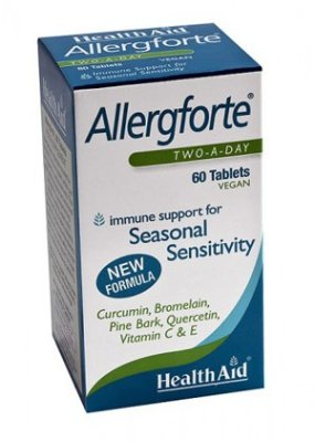 Allergforte 60 Tabletas.