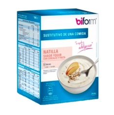 Biform Natillas Yogur Cereal 6 Sobres