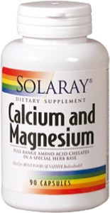 Calcium and Magnesium 90 cápsulas