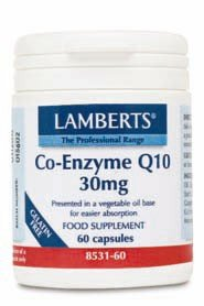 Co-Enzima Q10 30mg 60 cápsulas