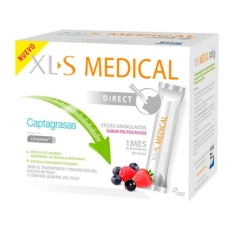 XLS Medical Captagrasas 90 sobres sabor frutos rojos