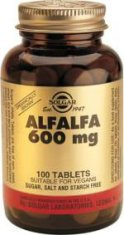 Alfalfa 600mg 100 Comp.