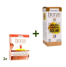Pack Drasanvi Bronze Natural perlas + SPF30.