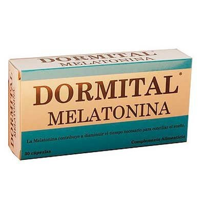 Dormital Melatonina Pharma OTC 30 caps