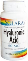 Hyaluronic Acid 60 mg 30 cápsulas vegetales
