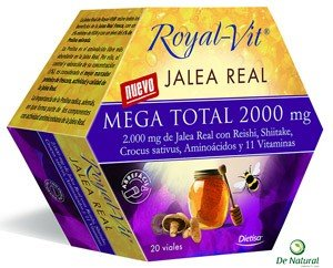 Royal Vit Mega Total 2000mg 20 Viales.