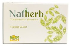 NATHERB 5 Cáps. 420 mg Antiguo Haqter q