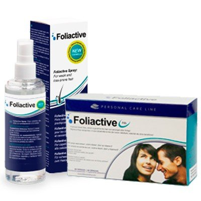 Foliactive Pack Capsulas y Spray