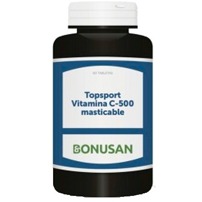 Topsport Vitamina C-500 masticable 60 tabletas