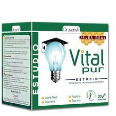 VITALPUR ESTUDIO 20 VIALES 15ML. (JALEA REAL)