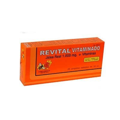 Revital vitaminado 20 ampollas