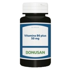 Vitamina B6 plus 50 mg 60 cápsulas