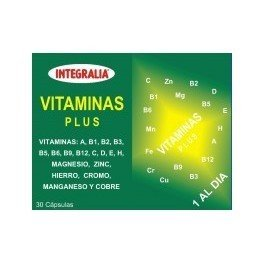 Vitaminas Plus 30 cápsulas