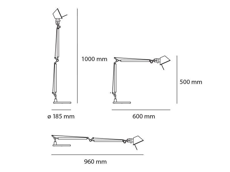Tolomeo Midi LED