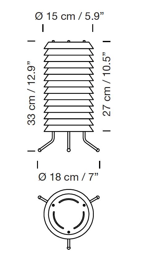 precio oferta lampara de suelo modelo Maija santa cole dimensiones