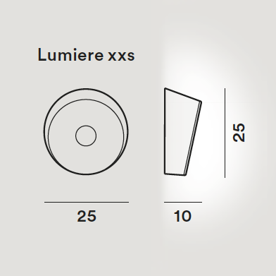 Lámpara Lumiere LED XXL + XXS