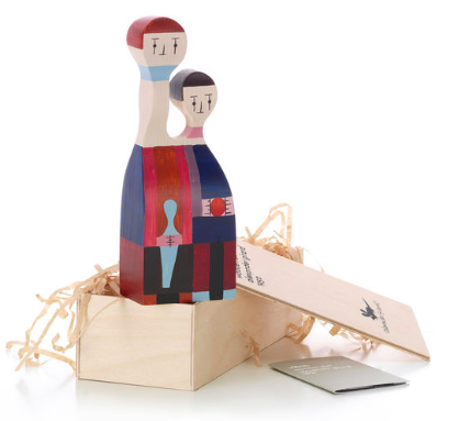 Comprar Muñeca de madera Wooden Dolls, nº 11, diseño de Alexander Girard para Vitra.