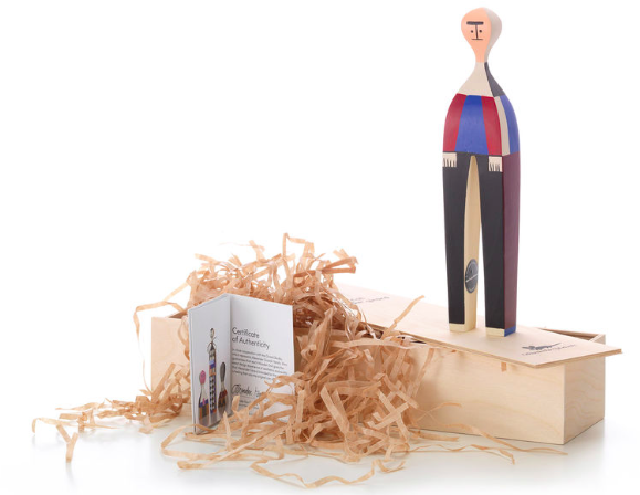 Comprar Muñeca de madera Wooden Dolls, nº 22, diseño de Alexander Girard para Vitra.