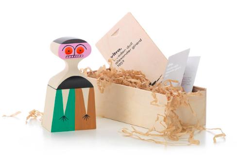 Comprar Muñeca de madera Wooden Dolls, nº 3, diseño de Alexander Girard para Vitra.