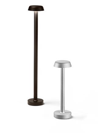 Lámpara para exterior Belvedere Clove 1/2, diseño de Antonio Citterio, Flos.