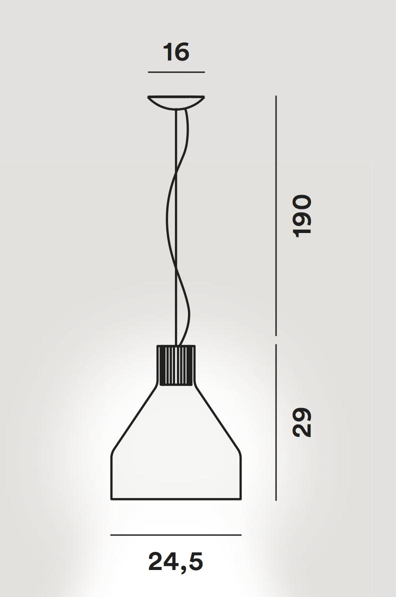 Lámpara Caiigo suspensión