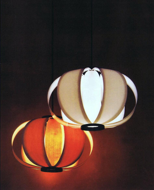 mejor precio Lámpara de suspensióncon lamas de madera diseño del arquitecto Coderch