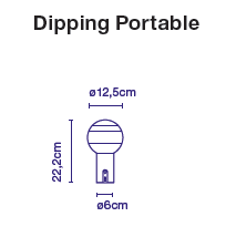 Dipping Light Portable