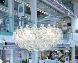 lampara colgante de comedor diseño luceplan modelo HOPE