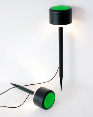 Lámpara para exterior diseño de Causas Externas para Santa & Cole