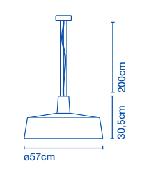 Soho 57 / 112,6 cm.