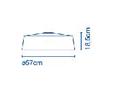 Soho 57/112 plafón techo