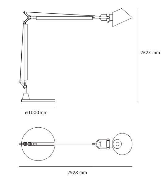 Comprar Lámpara Tolomeo Mega Terra Artemide