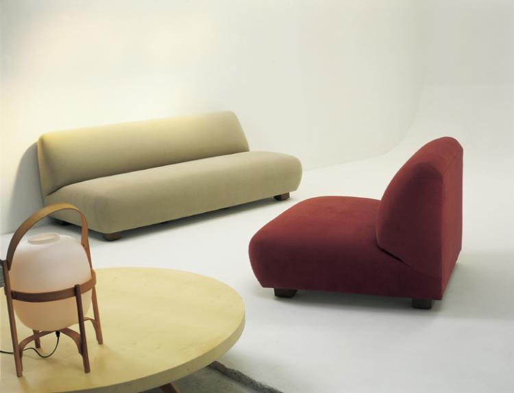 sofa cadaques de santa Cole diseño de Federico Correa