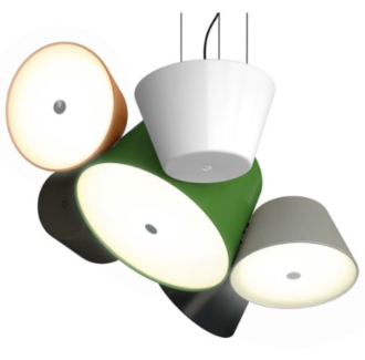 mejor precio Lámpara Tam Tam 5 pantallas colores Marset