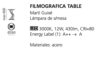Lámpara filmográfica