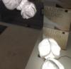lampara baby cloud led diseño de frank gehry para Belux vitra