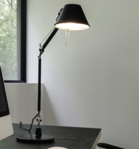 Tolomeo Mini Negra /base o soporte pared