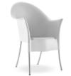 silla exterior diseño de starck para la marca driade