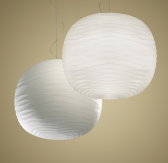 lampara gem suspension colgante de foscarini